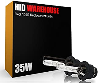 HID-Warehouse AC HID Xenon Replacement Bulbs - D4S / D4R / D4C - 4300K Daylight (1 Pair) - 2 Year Warranty (Metal Bracket)