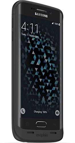 mophie Juice Galaxy S6 Edge - Black