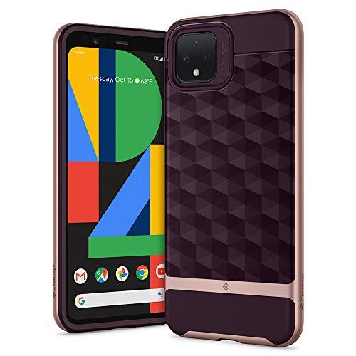 Hülleology Parallax Kompatibel mit Google Pixel 4 XL Hülle, Burg&y 3D Muster Schutzschicht Stoßfest Hülle, Handyhülle Google Pixel 4XL (Burg&y)