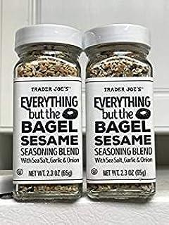 Trader Joe Everything but The Bagel Sesame Seasoning Blend (2 Pack)