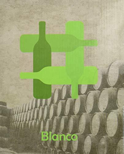 Vino Blanco Bag In Box de 5 L- BODEGA CUATRO RAYAS