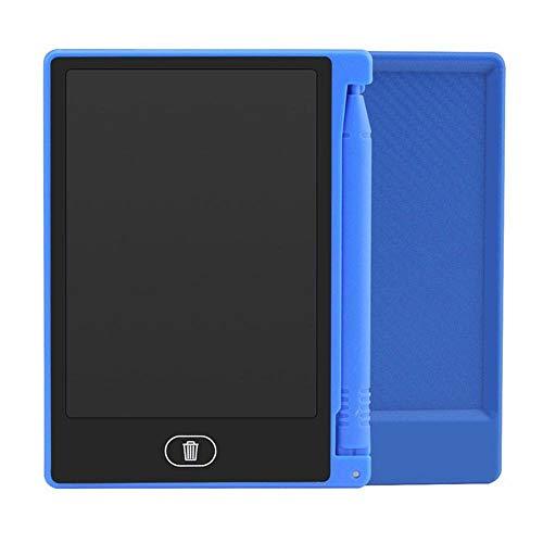 """BXGZXYQ 4,4\""""LCD LCD Tablet Kind Zeichnung Tablet 4,4\"""" Kinder Board Digital Board Zeichenblock Schreibblock Schreibtabletts Grafiktablett (Farbe : Blau)"""