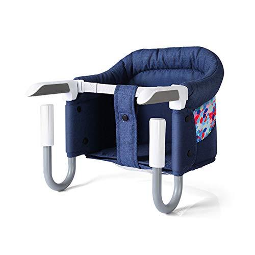 SKYLYZH Chaise Haute pour Bébé Enfant Siège, Respirant Siège de Table, avec Ceinture de Sécurité Repas Bébé, Stable, Sûre, Facile à Plier, Portable, Élégant