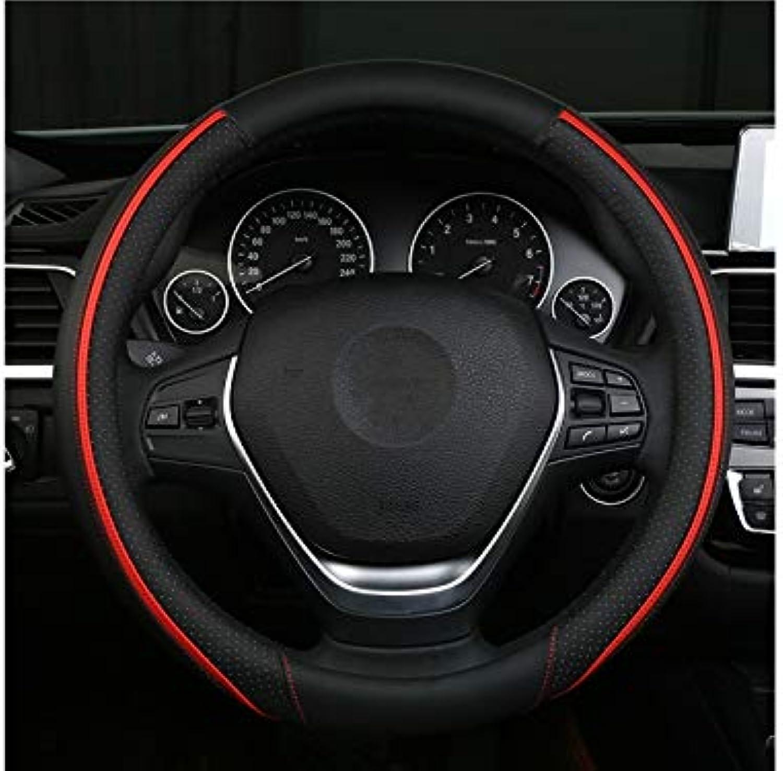 ADream Mikrofaser Leder Auto Lenkradabdeckung Komfort Haltbarkeit Sicherheit Sicherheit Sicherheit Atmungsaktive Rutschfeste Auto Lenkradabdeckung Radschutzfolie (Orange) B07HQJ58CM  Vollständige Palette von Spezifikationen dba49b