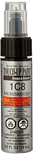 Genuine Toyota 00258-001C8-21 Silver Metallic Touch-Up Paint Pen (1/2 fl. oz., 14 ml​)
