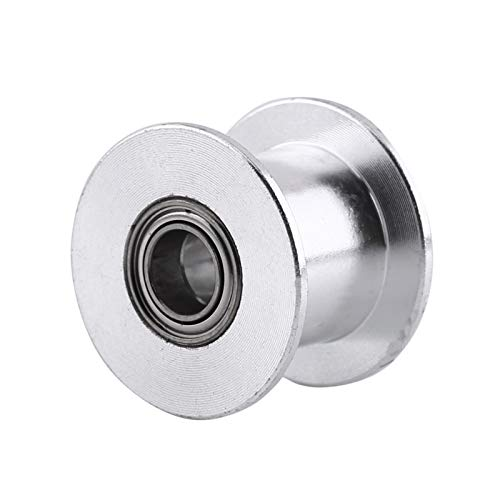 BITHEOUT 【𝐄𝐚𝐬𝐭𝐞𝐫】 Aluminum Pulley, Belt Pulley, Good Replacement for Belt Width 10MM Smooth Without Teeth 3D Printers 2GT