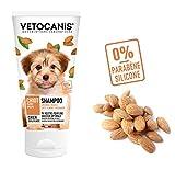 VETOCANIS Shampoing pour Chiot, 0% de Parabène 0% de Silicone, Format 300ML