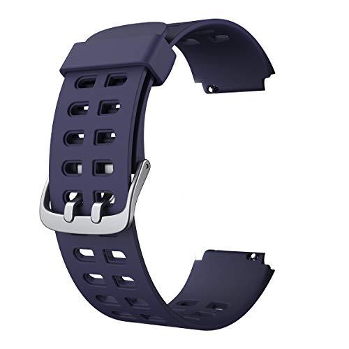 CHEREEKI Smartwatch Correa ID205 ID205L Correa de Repuesto (Azul)