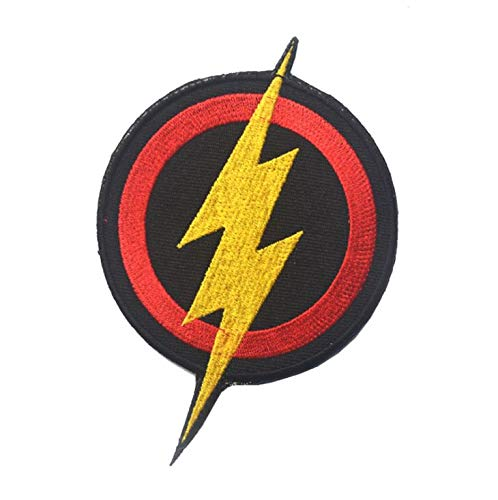 OYSTERBOY The Flash Super Heroes Symbol Tactical Patch Hook & Loop
