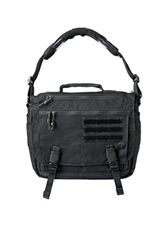 First Tactical Summit Side Satchel, Black