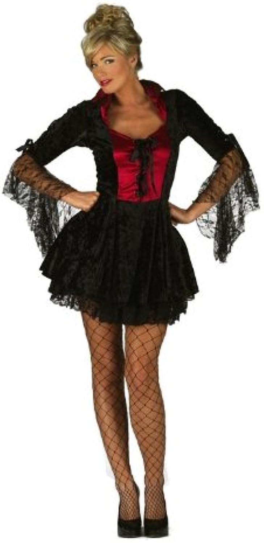 Dracula Miss Vampire Halloween Fancy Dress Costume - XL (UK 18-20) by Parties Unwrapped B01DCOWZDU Bekannt für seine gute Qualität | Marke