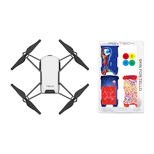 Tello Quadcopter Drone with HD Camera and VR,Powered by DJI Technology and Intel...