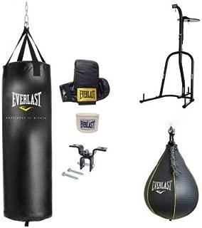 Everlast Dual Station Heavy Bag Stand, Value Bundle