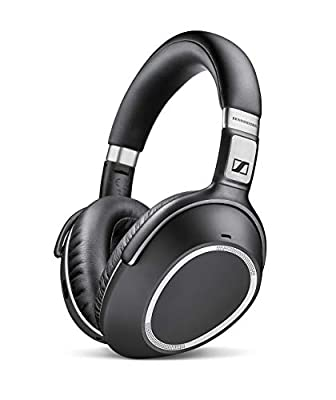 Sennheiser PXC 550 Wireless NoiseGard Adaptive Noise Cancelling, Bluetooth Headphone with Touch Sensitive Control and 30-Hour Battery Life - Black by Sennheiser