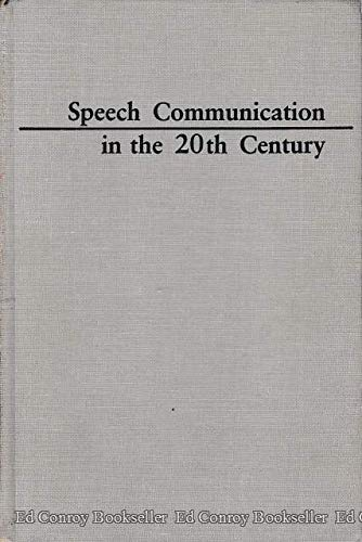 Download Speech Communication in the 20th Century 0809311968