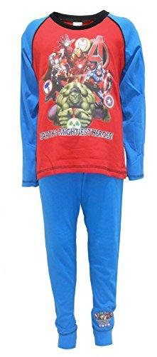 Marvel Vengadores The Earth's Mightiest Hereos Boys Pijamas