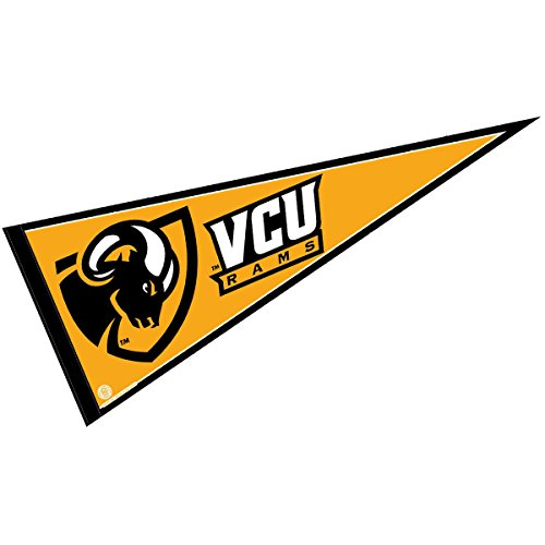 College Flags & Banners Co. VCU Pennant Full Size Felt