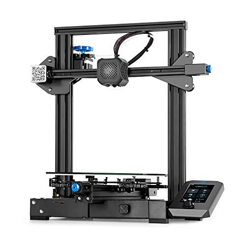 Imprimante 3D Creality【Ender 3 V2】 avec Carte Principale silencieuse, boîte à Outils Pratique, Alimentation MeanWell et Taille d'impression pour 220x220x250mm