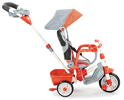 little tikes 639814 5-in-1 Deluxe Ride and Relax Trike