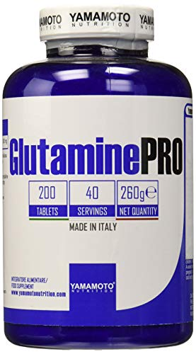 Yamamoto Nutrition Glutamine PRO Kyowa Quality integratore alimentare di Glutammina 200 compresse