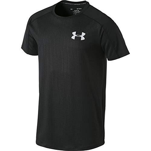 Under Armour Mk1 Emboss T-Shirt, Maglietta da Uomo, Nero, XS