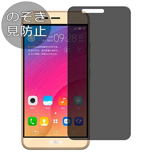 Synvy Privacy Screen Protector Film for Asus Zenfone Pegasus 3 Anti Spy Protective Protectors [Not Tempered Glass] New Version