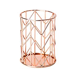 Rose-gold-cup-pencil-holder
