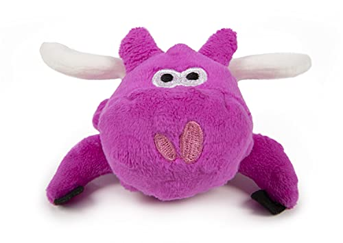 GoDog Just for Me Chew Guard Flying Pig Squeaky Plush Dog Toy (Small, Pink) $3.75 & More + Free Shipping w/ Prime or $25+