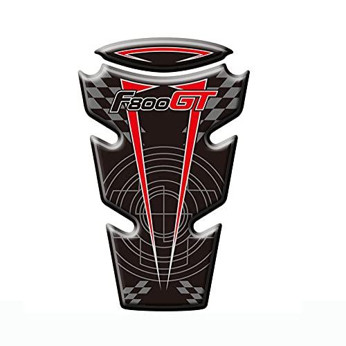 para B-MW F800 GT 2013 2014 2015 Motorcycle 3D Fuel Stay Tank Pegatinas Protectores calcomanías (Color : 2)