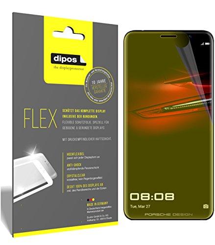 dipos I 3X Schutzfolie 100prozent kompatibel mit Huawei Mate RS Porsche Design Folie (Vollständige Bildschirmabdeckung) Bildschirmschutzfolie
