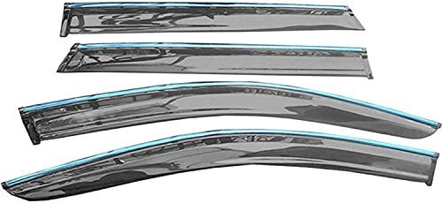 Voiture latérale Déflecteurs pour Subaru Outback 2015 2016 2017 2018, Protection Vitres LatéRales Soleil FuméE Garde Pluie DéCoration Accessoires
