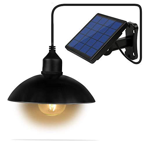 Z·Bling Solarleuchten Lampe LED Solar E27 Glühbirne Solarlampen tragbare Lämpchen Licht Birne für außen Innen Garten Camping Wandern Lesen Zelt Angeln Beleuchtung