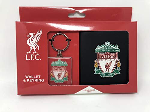 Liverpool Football Club Gift Sets Great For Christmas, Birthdays And Fathers Day (Wallet & Keyring)