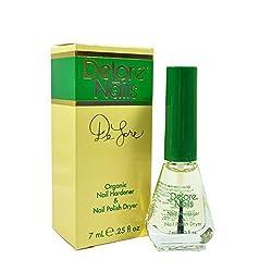 commercial Delore's DeLore Bio Nail Hardener and Nail Polish Dryer (1/4 oz) delore nail oil
