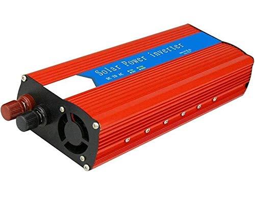 3000W Auto Power Inverter, DC a AC 12V 24 a 110V 220V, potenza di picco di 6000W, con doppia porte di ricarica USB e uscita CA, convertitore di tensione automobilistico a onda sinusoidale puro, per au