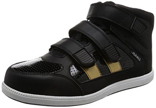 [富士手袋工業] 安全靴 JSAA/B種 ミドルカット セーフティシューズ 6545 メンズ BLACK 25.5cm