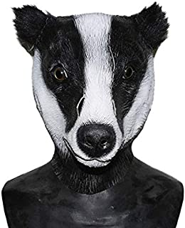 Deluxe Latex Funny Animal Mask for Halloween Costume Birthday Party Cosplay Full Head