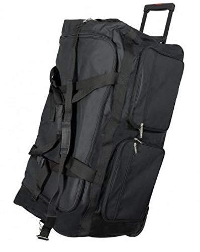 Jumbo Trolley-Reisetasche XXXL, 180 Liter, 90 cm, 3 Rollen, 3,6 kg - Rollentasche, Sporttasche