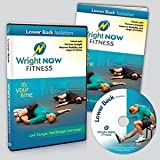 Lower Back Isolation Exercise and Stretch Workout DVD to Lessen Pain, Increase Strength, Improve Flexibility and Range of Motion with Aaron Wright