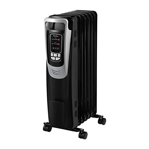 PELONIS Electric 1500W Oil Filled Radiator Heater with Safety Protection