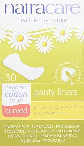 Natracare Protège-Slip Naturel Incurvé Panty Liner x 30 Non Bio