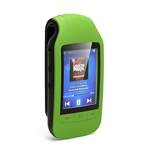 Chenfec MP3-speler Bluetooth 8 GB display knop met sportclip draagbare mini MP3 / MP4 speler muziek ondersteuning TF/Micro SD kaart Max 32GB USB stappenteller Video Player