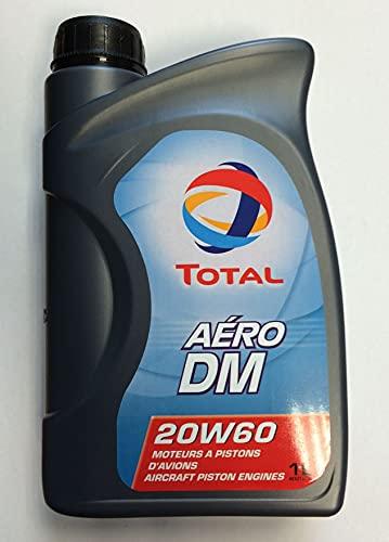 DLLUB - HUILE TOTAL AERO DM 20W60-18 x 1 Litre
