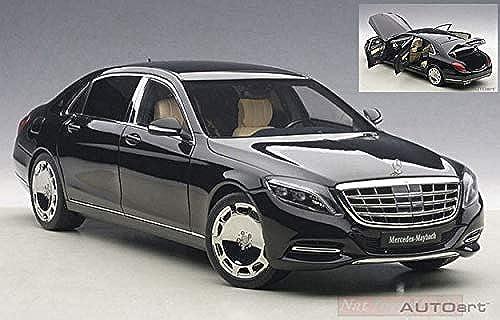 AUTOART AA76293 MERCEDES MAYBACH S-KLASSE (S600) 2016 schwarz 1 18 DIE CAST MODEL