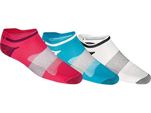ASICS Lyte Sock 3pack Chaussettes, Multicolore (Multicolore 123458 0640), 3738 (Taille Fabricant: 35 38) Homme