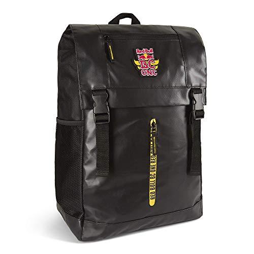 Red Bull BC One Rucksack, Schwarz Unisex One Size Backpack, BCOne Freestyle Dance B-Boy Original Bekleidung & Merchandise
