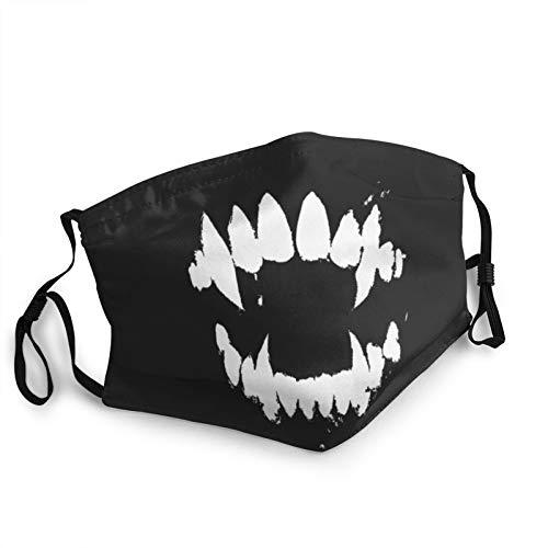 Unisex Masks Cool Pet Background with Dog Paw Prints and Bone Face Mouth Dust Mask Unisex