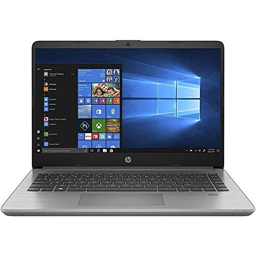 HP 340S G7 Notebook PC, Silver, Intel Core i5-1035G1, 8GB RAM, 256GB SSD, 14.0' 1366x768 HD, HP 1 YR WTY, Italian Keyboard + EuroPC Warranty Assist, (Renewed)