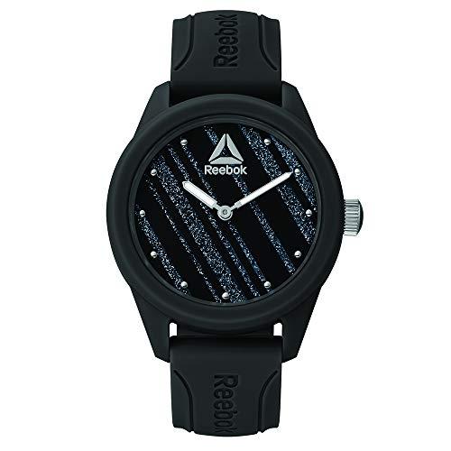 REEBOK Damen Analog Quarz Uhr mit Silikon Armband RD-SPR-L1-PBIB-B1