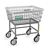 R&B Wire 100E/ANTI Antimicrobial Wire Laundry Cart